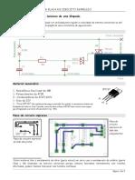 Regulador da intensidade luminosa de uma lâmpada.doc