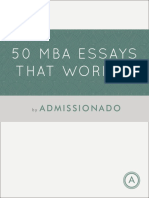 50 Essays That Worked Preview
