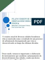 Plano Diretor de Drenagem Urbana - Pddur