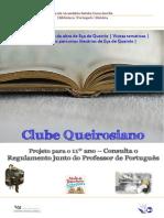Cartaz - Clube Queirosiano