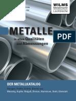 Aluminium Metallkatalog 2011