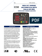 Datakom 307 Manual Español