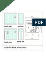 Diseño Tipo Container Camarín