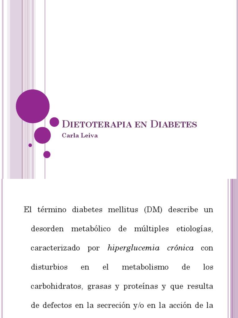 diabetes mellitus tipo 1 dietoterapia