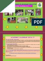 Academic Calendar 2016 17