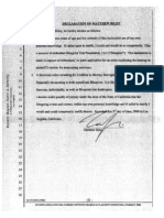 Riley Declaration