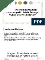 Rencana Pembangunan Pembangkit Listrik Tenaga Nuklir (PLTN