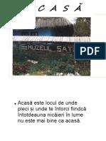 """Muzeul Satului """"Acasă"""", oras Tautii-Magheraus"""