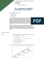 BeyeNETWORK_ Segmentation + Scoring Model + Text Mining + Social Network Analysis = Force Multiplier!