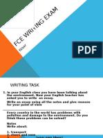 FCE Writing Exam ESSAY Presentation