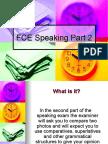 FCE Speaking Part 2 Presentation