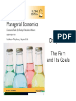 Managerial Economics (02 - The Firm and Its Goals)
