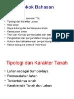 2-Tipologi Karakter Lahan