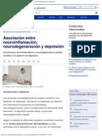 IntraMed - Artículos - Asociación Entre Neuroinflamación, Neurodegeneración y d