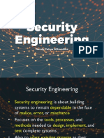 1 Security Engineering