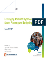 15 04 15 Leveraging ASO With Hyperion Public Sector Planning and Budgeting