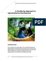 The Clustering Approach to Agroenterprise Development - 2a