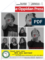 The Oppidan Press - Edition 6, 2016 - Sexual Health Edition