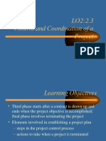 1.4 Elements Involved in Terminating Projects1