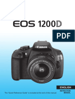 EOS 1200D Instruction Manual En