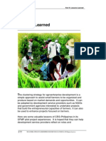 The Clustering Approach to Agroenterprise Development - 4