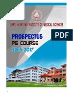 Pg Prospectus- 2016- Md Pharmacology