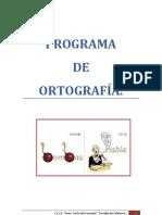Programa de Ortografía