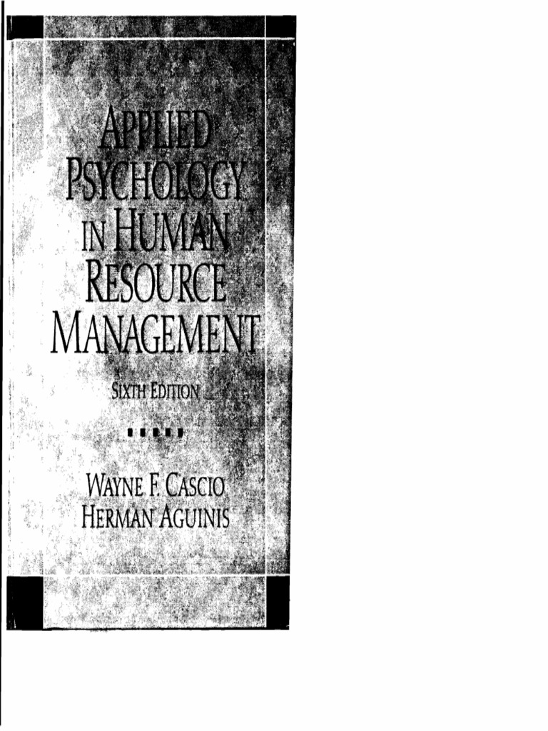 68203956 applied psychology in human resource management 6th edition 68203956 applied psychology in human resource management 6th editionpdf performance appraisal psychology cognitive science malvernweather Choice Image