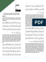 160918 Sujud Sahwi, Syukur Dan Tilawah