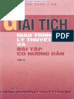 NXL_Giai Tich Giao Trinh LT Va BT Co Huong Dan Tap 2