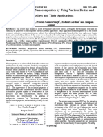 Review on Polymer Nanocomposites by Using Various Resins and Nanoclays and Their Applications 06 June