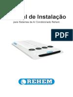 Manual do Operador TR-145s Ar Condicionado para ônibus Rehem