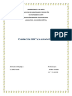 Formacion Estetica Audiovisual