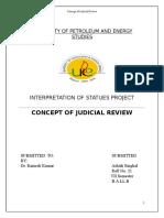 211674422 Concept of Judicial Review