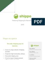 Shippo Series A Deck