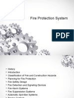 Fire Detection and Signaling Devices