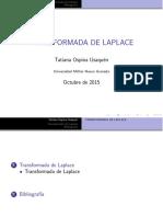 Transform LaPlace