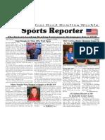 October 5 - 11, 2016  Sports Reporter