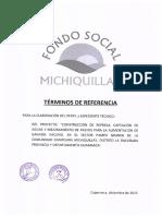 Términos de Referencia Paquete Perfil y Expediente Técnico Sector Pampa Grande
