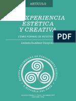 5 Experiencia Estetica Creativa