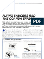 Flying saucers R&D - The Coanda effect