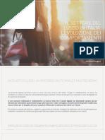 Il settore del lusso in Italia - L'evoluzione dei comportamenti d'acquisto