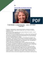 Alanis Morisssette Posta Um Artigo Com Margaret Paul, Ph.D