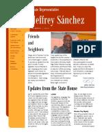 Sanchez Summer 2016 Newsletter