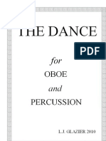 The Dance (for Oboe and Percussion) by Laurence Glazier (2010)