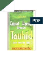 Empat Kaedah Memahami Tauhid (Syarah Qowa'Idul Arba')