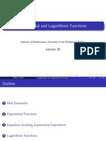 A18 - Exp and Log Fcns VJ