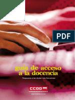 Guia de Acceso a La Docencia