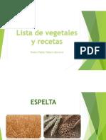 Leches Vegetales y Otras Resetas