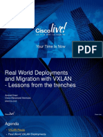 BRKDCN-2020 - Real World EVPN-VXLAN Deployment and Migration (LasVegas 2016)